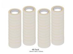 SCI 48 Pack White/Beige 19mm x 50m x 145 Mic