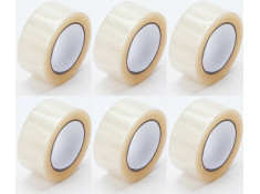 SCI 48mm x 75m Packaging Tape 6 Pack