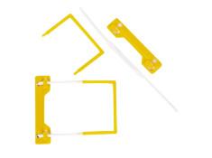 Panda Tube Type U-Clip Fastener 100 Pack