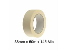 SCI White/Beige 38mm x 50m x 145 Micron