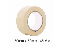 SCI White/Beige 50mm x 50m x 145 Micron