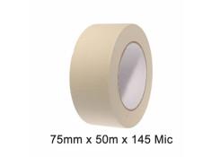 SCI White/Beige 75mm x 50m x 145 Micron
