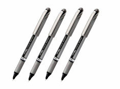 Pentel BL17 Energel Metal Tip Rollerball 0.7mm Black Pens