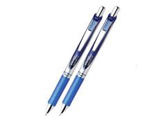Pentel BL77 Energel 0.7mm Fine Retractable Blue Gel Roller Pen