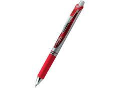 Pentel BL77 Energel 0.7mm Fine Retractable Red Gel Roller Pen