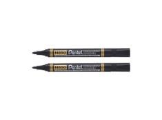 Pentel N850 Bullet Black Permanent Markers