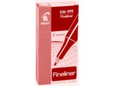 Pilot Fineliner Red Pen