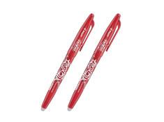 Pilot Frixion Ball Fine Erasable Gel Pen 0.7mm Red Pen