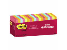 Post-It 654-18CTCP 76 x 76mm Capetown Cabinet 18 Pack