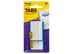 Post-It Durable Filing 686F-50Bl White With Blue