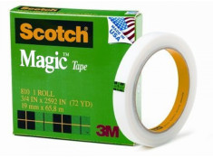 Scotch 3M 3M Magic 810 Invisible Tape 18mm x 66m