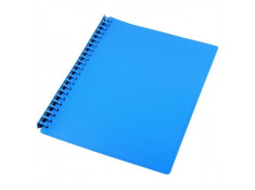 Sovereign A4 Refillable Blue 20 Pages Display Book