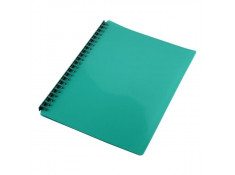 Sovereign A4 Refillable Gloss Green 20 Pages Display Book