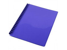 Sovereign A4 Refillable Gloss Purple 20 Pages Display Book