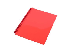 Sovereign A4 Refillable Gloss Red 20 Pages Display Book