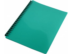 Sovereign A4 Refillable Green 20 Pages