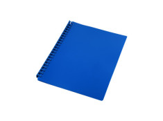 Sovereign A4 Refillable Navy Blue 20 Pages Display Book