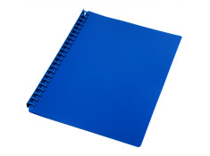 Sovereign A4 Refillable Navy Blue 20 Pages