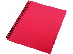 Sovereign A4 Refillable Red 20 Pages