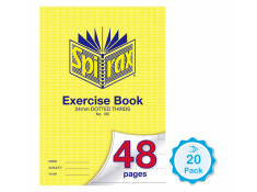 Spirax No.105 48 Page A4 24mm Dotted Thirds Exercise Books