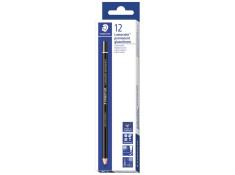 Staedtler 108 Lumocolor Permanent Black Pencils