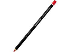 Staedtler 108 Lumocolor Permanent Red Pencil