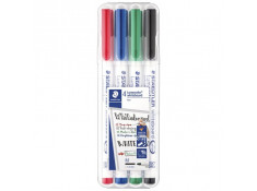 Staedtler 301 1mm Assorted Colour Lumocolor Whiteboard Markers