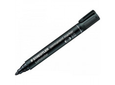 Staedtler 352 Lumocolor Bullet Nib Black Permanent Markers