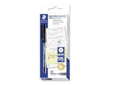 Staedtler Stick 430 Medium Ballpoint Pens  10 Pk