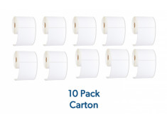 StarTrack Type 102mm x 152mm White Thermal Address Roll 10 Pack Carton Bulk Buy - 350