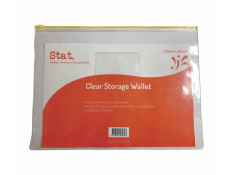 Stat 330 x 245mm Clear Data Envelope