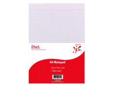 Stat A4 55gsm 7mm Ruled White (50 Sheets)