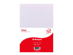 Stat A5 55Gsm 8mm Ruled White (50 Sheets)