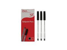 Stat Ballpoint Medium Black Pens