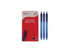Stat Retractable Ballpoint 1.0mm Blue Pens