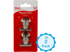Stat Magnetic 32mm Chrome Twin Pack
