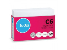 Tudor C6 White Peel/Seal Secretive 100 Pack
