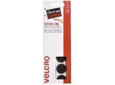 Velcro Handy Black Dot Hook and Loop