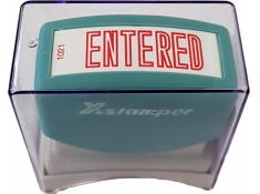 X-Stamper 1021 Entered Red