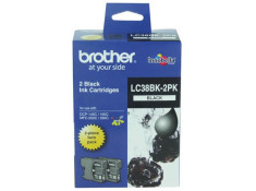 Brother LC-38BK2PK