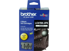 Brother LC-67BK2PK