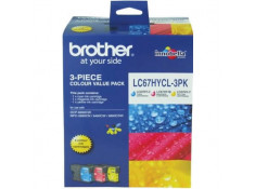 Brother LC-67HYCL3PK