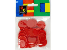 EC 30 Pack of Small 20mm Red