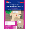 Avery L7163 Laser Labels 99.1 x 38.1 mm 100Pk