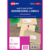 Avery L7164 Laser Labels 63.5 x 72 mm 100Pk