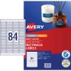 Avery L7656 Mini Labels 46 x 11.11mm 25Pk