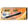 Bic Reaction Retractable Ballpoint Pens 12 P