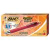 Bic Reaction Retract Ballpoint Pens 12 Pk
