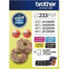 Brother LC-233PVP 4 Colour Ink Cartridge and Paper Pack