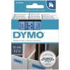 Dymo SD45016 Black on Blue 12mm x 7m
